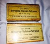 New un-issued-unwraped WWII Browning 9mm ammo