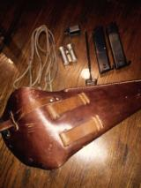 WWII Lati full rig holster with all accessories - 3 of 3