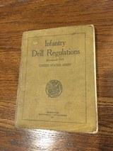 WW! G.I.Infantry dril regulations signed by owner Lt Parks-13 Inf PNG - 2 of 2