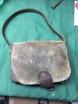 Union Civil War cartridge pouch