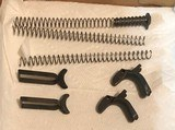 triggers,grip safetys,slide springs,takedown bushing