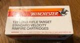 Winchester Long Rifle Target Standard Velocity 500 rd brick