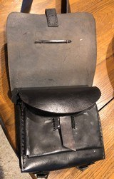 """C.S"" over the shoulder ammo pack with brass buckel - 4 of 8"