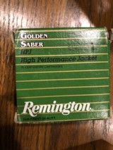 Remington Golden Saber 165 grain in 25 rd boxes - 2 of 2