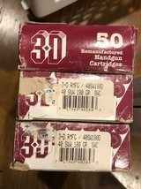 Three boxes of 3-D Manufactured Ammo 40 S&W caliber 180 grain - 2 of 4