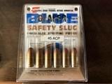 45 cal ACP Safty Slug