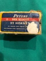 22 Hornet 50 rounds