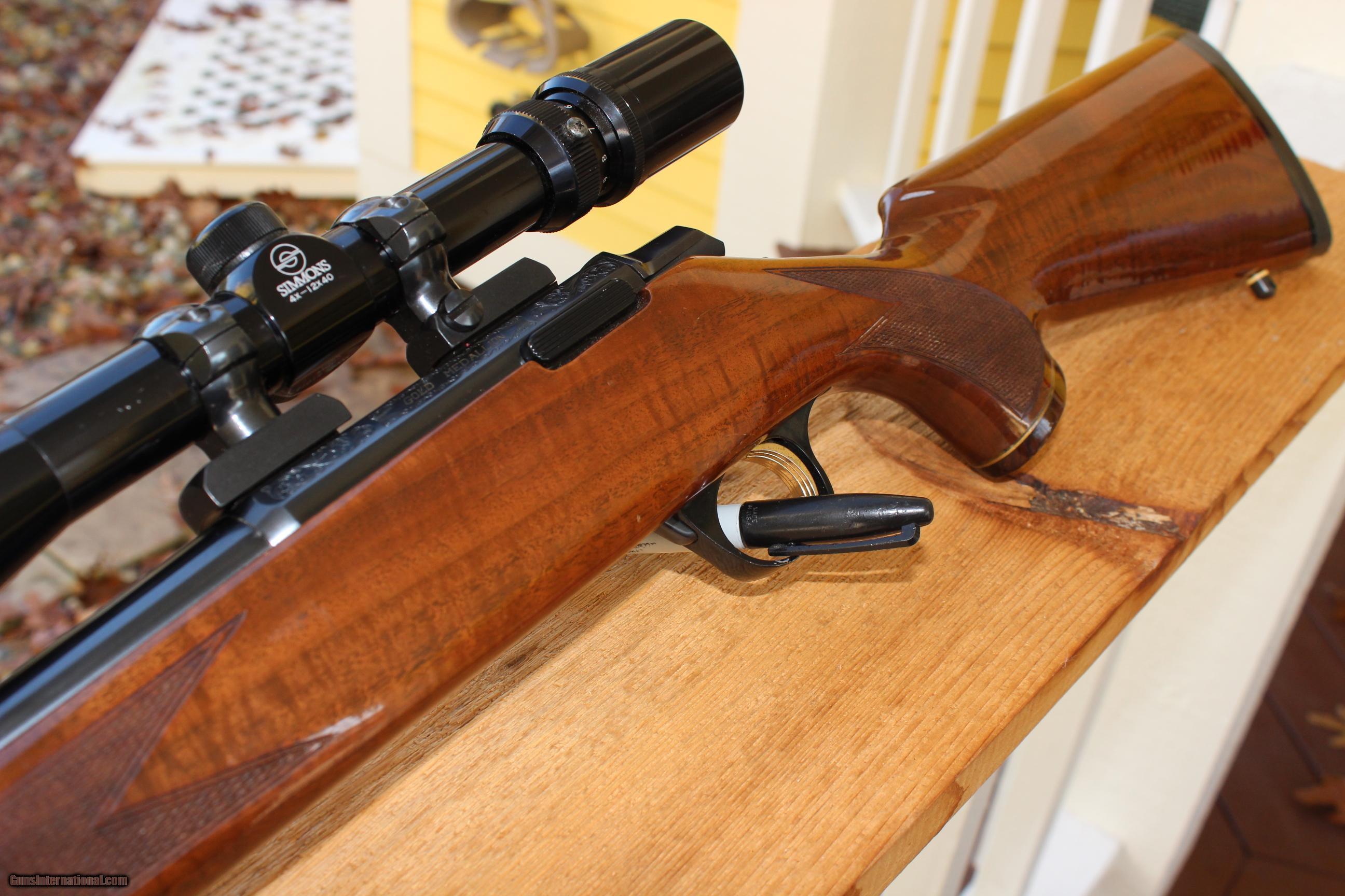 Browning A Bolt Gold Medallion 22 Long Rifle 22 Lr