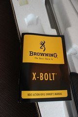 Browning X-Bolt Stainless Stalker Carbon Fiber Fluted 243 Win. NIB Discontinued - 14 of 14