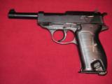 WW2 P38 SVW-45 (MAUSER code) CAL 9mm LAST NAZI'S PRODUCTION - 2 of 20