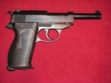 WW2 P38 SVW-45 (MAUSER code) CAL 9mm LAST NAZI'S PRODUCTION - 4 of 20