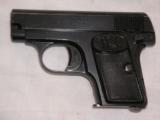 BROWNING BELGIUM FABRIQUE NATIONALE MODEL 1905 CAL. 25ACP PISTOL - 1 of 16
