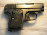 BROWNING BELGIUM FABRIQUE NATIONALE MODEL 1905 CAL. 25ACP PISTOL - 3 of 16