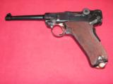 DWM 1906 SWISS MILITARY LUGER IN MINT ORIGINAL CONDITION CALIBER 30 LUGER - 1 of 20