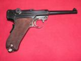 DWM 1906 SWISS MILITARY LUGER IN MINT ORIGINAL CONDITION CALIBER 30 LUGER - 2 of 20