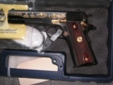 COLT GOVERNMENT MODEL 1911 DECORATED TRIBUTE BY AMERICA REMEMBERS