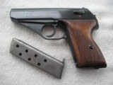 MAUSER PISTOL WW2 MODEL HScNAZI TIME PRODUCTION WITH E/L POLICE MARKING