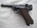 LUGER POLICE 1917 DATED WITH 1940 POLICE HOLSTER AND MATCHING MAGAZINE - 1 of 20