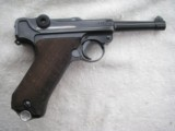 LUGER POLICE 1917 DATED WITH 1940 POLICE HOLSTER AND MATCHING MAGAZINE - 2 of 20