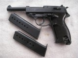 WALTHER P38 NAZI'S TIME PRODUCTION IN EXCELLENT CONDITION WITH 2 MAGS - 1 of 20