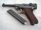 MAUSER LUGER 1936 DATED W/MATCHING S/N MAGAZINE IN 99% ORIGINAL CONDITIONI