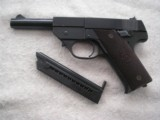 HIGH STANDARD, NEW HAVEN, CT, PISTOLMODEL G-B CAL. 22LR IN 98% ORIGINAL CONDITION