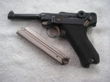 ERFURT LUGER 1914 DATED IN RARE 98% ORIGINAL CONDITION WITH MATCING MAGAZINE