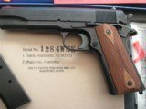 COLT 1911 US ARMY REPRODUCTION OF SMALL QUANTITY IN 2003 NEW CONDITION - 2 of 20