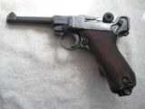 LUGER NAZI'S TIME 42/BYF CAL.9MM IN VERY GOOD 95% ORIGINAL CONDITION
