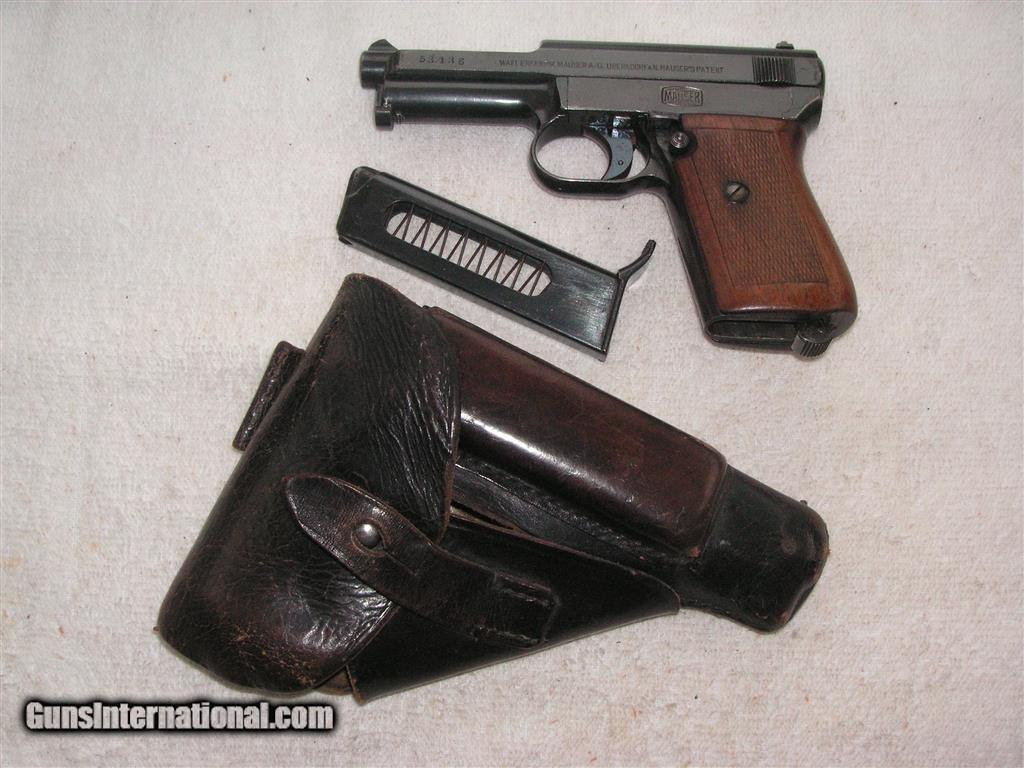 MAUSER MODEL 1914 CAL 7 65mm (32acp) IN EXCELLENT ORIGINAL