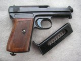 MAUSER MODEL 1914 CAL.7.65mm (32acp) IN EXCELLENT ORIGINAL CONDITION - 7 of 20