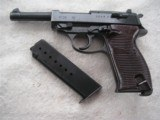 MAUSER P.38 BYF/43 IN EXCELLENT ORIGINAL ALL MATCHING CONDITION