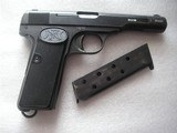BROWNING BELGIUM DUTCH MILITARY FABRIQUE NATIONALE MODEL 1922 CAL.