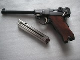 DWM 1906 NAVY MILITARY LUGER IN ORIGINAL LOWER POSITION