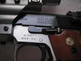 SMITH & WESSON/AMT PROTOTYPE MODEL 52SS PISTOL IN EXCELLENT ORIGINAL CONDITION - 5 of 19