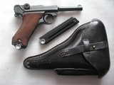 LUGER MAUSER BANNER POLICE LIKE NEW ORIGINAL ALL MATCHING INCLUDING 2 MAGAZINES
