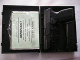 WALTHER MODEL P.5 IN NEW IN CASE ORIGINAL CONDITION W/3 ORIGINAL MAGS & PAPERS