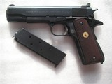 COLT MODEL 1911 NATIONAL MATCH COVERTED TO MILITARY PRODUCTION