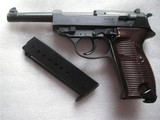 MAUSER MOD.P.38 BYF/44 IN LIKE NEW RARE ORIGINAL CONDITION ALL MATCHING