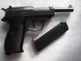 WALTHER MOD. P.38 FIRST MILITARY 480 SECRET CODE