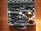 HAMMERLI-WALTHER MOD. 205 WITH 6 MAGS, 2 WEIGHTS, MUZZLE BRAKE EXCELLENT CONDITION