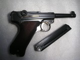 "1938 MAUSER BANNER RARE ""DUTCH"" LUGERIN NEW ORIGINAL CONDITION ONLY 1000 MFG - 2 of 20"