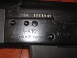 RUSSIAN SAIGA SNIPER CAL..410 MAGNUM NATO PACT BUTSTOCK W/SNIPER SCOPE IN NEW CONDITION - 9 of 20