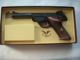 HIGH STANDARD MOD.103 SUPERMATIC CITATION CAL. .22LR LIKE NEW IN ORIGINAL BOX - 1 of 17