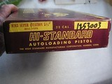 HIGH STANDARD MOD.103 SUPERMATIC CITATION CAL. .22LR LIKE NEW IN ORIGINAL BOX - 5 of 17