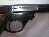 HIGH STANDARD MOD.103 SUPERMATIC CITATION CAL. .22LR LIKE NEW IN ORIGINAL BOX - 16 of 17