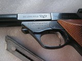 HIGH STANDARD MOD.103 SUPERMATIC CITATION CAL. .22LR LIKE NEW IN ORIGINAL BOX - 12 of 17