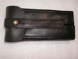 LUGER 2 NAGAZINES IN LEATHER CASE FOR ARTILLERY LUGER
