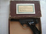 HIGH STANDARD MODEL SPORT KING PISTOL IN LIKE NEW ORIGINAL CONDITION WITH BOX