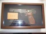 SMITH & WESSON MOD. 41 CAL. .22LR 50th ANNIVERSARY ENGRAVED IN NEW CONDITION - 19 of 20